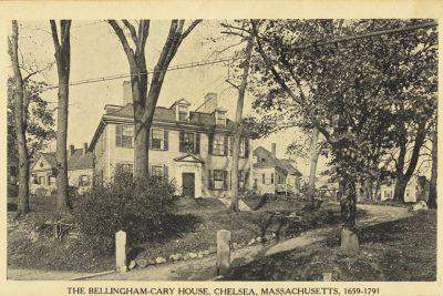 The Bellingham-Cary House, Chelsea, Massachusetts, 1659-1791